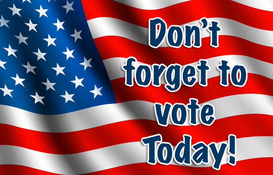 Election Day is Tuesday, November 4, 2014