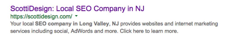 SEO company in NJ